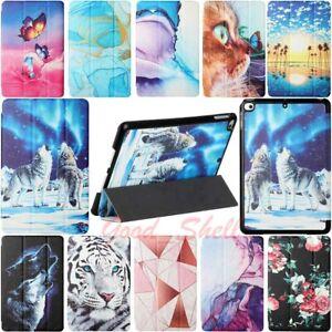 For iPad 8th 7th 6th 5th Gen/Air/Pro/Mini Tri-fold Flip Leather Case Smart Cover