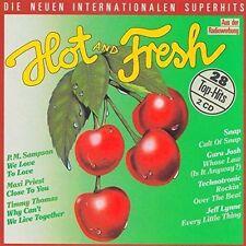 Hot & Fresh (1990) Ub40, Wilson Phillips, Vaya con Dios, Propaganda, Sn.. [2 CD]