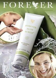 FOREVER LIVING Aloe Vera Scrub With microspheres Of Jojoba 99g  Quality Product