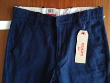 COMBINE SHIP: new-w-tags 78%OFF!! LEVI'S Chino Jogger blue pants jeans 28x30