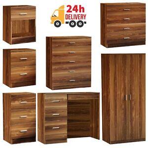 Wardrobes Chest of Drawers Dressing Bedside Table Cabinet Bedroom Furniture Set