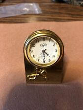 Elgin Desk Clock With Stand Works