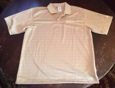 Climalite AthletiCo Men's Medium Gold polyester polo shirt Wear what the pros do