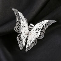Fashion Cute Women Lady Silver Plated Lovely Butterfly Necklace Pendant Jewelry