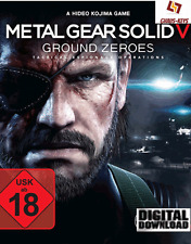 METAL Gear Solid V Ground Zeroes PC Steam Key Download Global [SPEDIZIONE LAMPO]