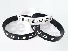 3 pcs FRIENDS Tv Show Silicone Bracelet Wristband New Central Perk