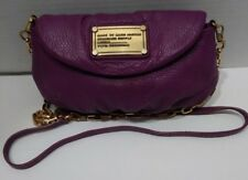 Marc by Marc Jacobs leather crossbody Mini Natasha Purple