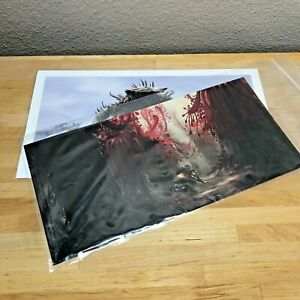 """Loot Crate Gaming Exclusive Fallout Art Print Lithographs 13"""" x 7"""""""