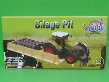 1:16 Kids Globe 610489 Fahrsilo aus Holz 30x60x6 cm für Bruder passend
