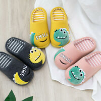 Toddler Boys Girls Little Kid Fashion Shoes Warm Casual Animal Home Slippers