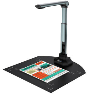 12MP Document Camera Laptop Book Scanning W/ Extension Stand For Distance Learn