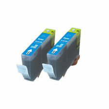 2 CYAN Printer Ink + chip use for Canon CLI-226C MG6220 MG8220 MX882 MX892