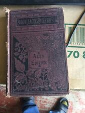 Vintage 20,000 LEAGUES UNDER THE SEA by Jules Verne ALTA Author's Edition