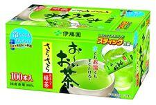 ITOEN Japanese Green Tea 0.8g×100 stick Maccha Oi Ocha From Japan