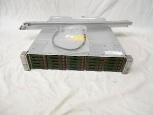 HP D3700 25x 600GB 10K 6G SAS Hard drive server Expansion Array JBOD DL360 DL380