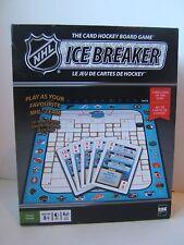 NHL Ice Breaker The Card Hockey Board Game Complete Icebreaker