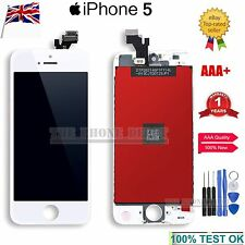 For iPhone 5 LCD Digitizer Touch Screen Display Frame Assembly Replacement White