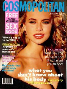 Cosmopolitan Australia October 1992 - Rare 90s Women's Vintage Fashion Magazine