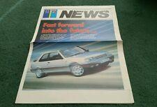 Junio 1987 Peugeot Talbot noticias Inc 309 Inc Gti 205 GTI CTI 305 ESTATE FOLLETO Reino Unido