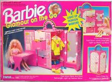Barbie Glamour On The Go Fashion Carry Case For Accessories and Clothing 1994 ..