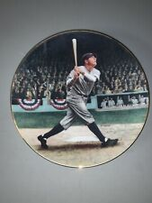 1992 Babe Ruth the Called Shot Legends of Baseball Collector Plate B.P. Benger