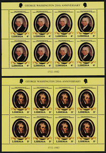 Liberia 901-10 Sheets MNH American Presidents