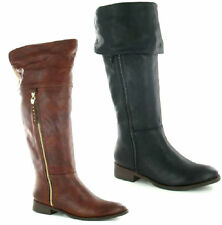 Spot On Synthetic Over Knee Boots for Women