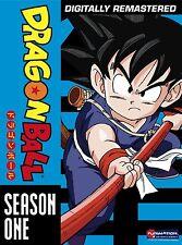 Dragon Ball DVD Complete Series 1st First Season 1 One TV DB Anime Animated Goku