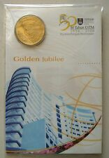 Malaysia 50 year Uitm coin card 2006