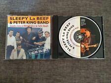 CD SLEEPY LABEEF & PETER KING BAND - CARLOS SEGARRA - LIVE IN VALLE REAL - Spain