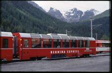 35mm slide RhB Rhätische Bahn Panorama B4 2501 Preda Switzerland 2000 original