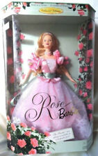 ROSE BARBIE GARDEN OF FLOWERS COLLECTION MIB