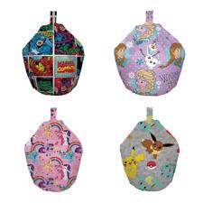 Licensed Boys Girls Filled Bean Bags - Buy One £19.95 Buy 2 or More £17.95 each