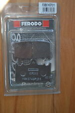 FERODO fdb574cp211 RACING DISCHI PASTIGLIE FRENO PASTIGLIE NUOVO & OVP