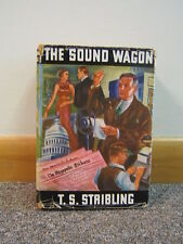 The Sound Wagon 1936 T.S. Stribling Dust Jacket Good Condition Free Shipping