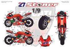 """[FFSMC Productions] Decals 1/9 Ducati GP7 2007 """"Valencia GP"""""""