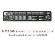PMA8000/ Garmin GMA-340 cmplt install kit, back plate, rack, contacts connectors