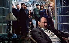 "James Gandolfini, Tony Soprano. ""The Sopranos,""  Photo Print 13 x 19"""