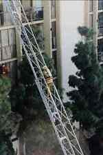 505042 Quinto Piso intento de rescate en fatal de gran altura Condo Fuego A4 Foto Impresión