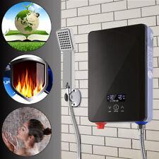 Elektrisch Warmwasser Durchlauferhitzer 6500W mit Bad Dusche Kit 230V 30-55 ℃ DE
