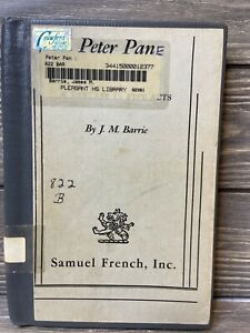 "Peter Pan J. M. Barrie 1928 Hardback Pen Marking ""E"""