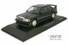 Mercedes-Benz 190E 2.5-16V EVO I 1989 Blau Schwarz Metallic  1:18 Minichamps NEU