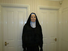 Nun For You Soft Mask & Costume Licenced Zagone Studios.UK Vest.Overalls,Gloves.