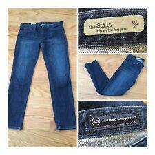 AG ADRIANO GOLDSCHMIED Womens sz 30 The Stilt Cigarette Leg Jeans Denim Stretch
