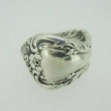 Sterling Silver Spoon Ring Melbourne Design Size 10