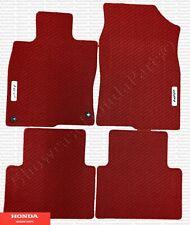 Genuine Honda Red HFP Floor Mats (Set of 4) Fits: 2017-2020 Civic