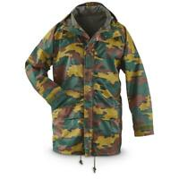 Genuine Belgian army waterproof goretex Seyntex jacket Jigsaw hooded parka