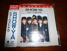 Show Ya / New Best Now JAPAN ORG'87 CA32-1450 NEW!!!!!!!!! A7