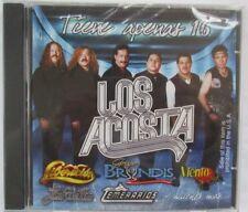TIENE APENAS 16 - LOS ACOSTA IMPORT CD - BRAND NEW - FACTORY SEALED