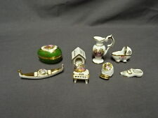 Job Lot / Collection Of Miniature Limoges Dolls House Pieces - Lot 5
